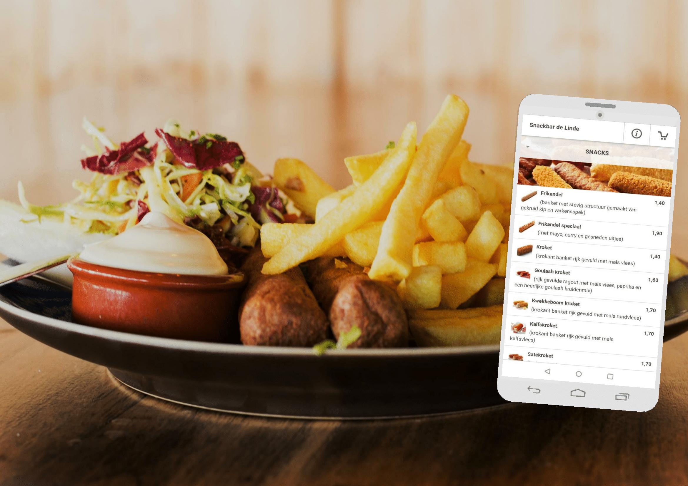 52d2a4dfb32 Snackbar de Linde | Bestel online met 10% korting op uw gehele ...